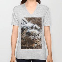 Tiger Portrait Unisex V-Neck