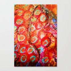 Delhi Bazaar Canvas Print