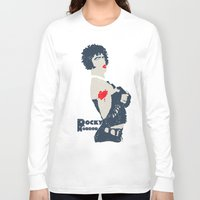 rocky horror Long Sleeve T-shirts featuring Rocky Horror by Alec Goss