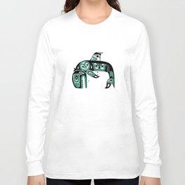 Native American Orca Long Sleeve T-shirt
