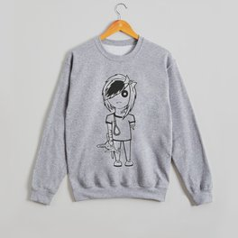 """Emo Zombie"" Crewneck Sweatshirt"