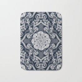 Centered Lace - Dark Bath Mat