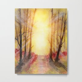 Into The Forest V Metal Print