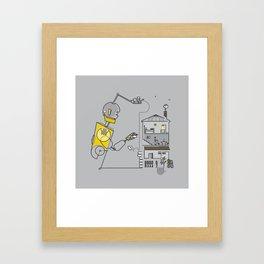 Herman Print Framed Art Print