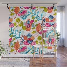 Tropical Jazz Wall Mural