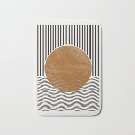 Abstract Modern Poster Bath Mat