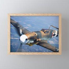 Bf-109 Photo #4 Framed Mini Art Print