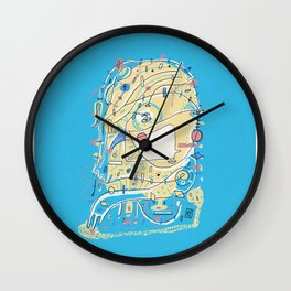 Discreet Compliment Wall Clock