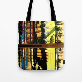 Easel Abstract 7 Tote Bag