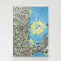 fairies Stationery Cards featuring Fairies by David Domike