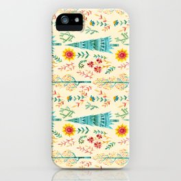 Meadow Wandering iPhone Case
