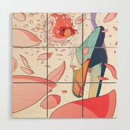 spring is coming Wood Wall Art