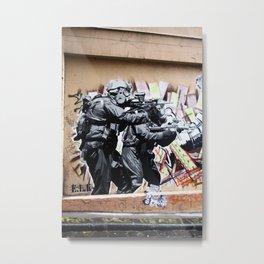 Art Attack! Metal Print
