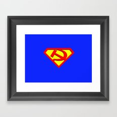 Russian Hero Framed Art Print