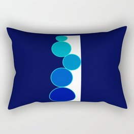 Only Circles 2 Rectangular Pillow