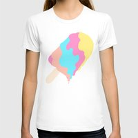 psychadelic T-shirts featuring Popsicle Illusion by Popsicle Illusion