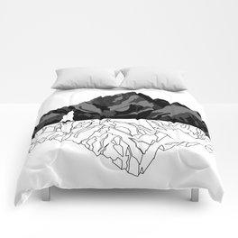Mountains Bear Comforters