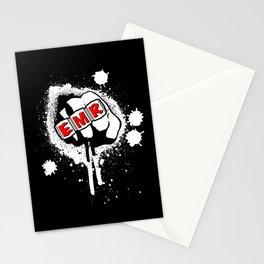 EMR crew logo rmd tweak Stationery Cards