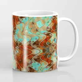 Scifi Rustic Geometric Coffee Mug