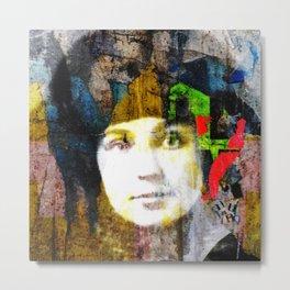 Marina Tsvetaeva Poet Author Portrait Metal Print