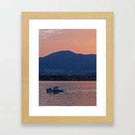 Eventide Framed Art Print