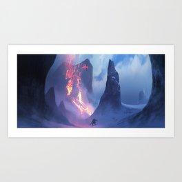 Winterflame Art Print