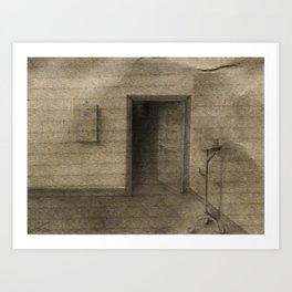 The room Art Print