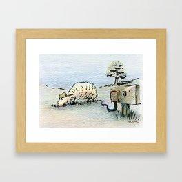 Electric Sheep Framed Art Print