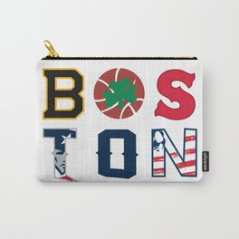 Boston Sports City Gift Carry-All Pouch