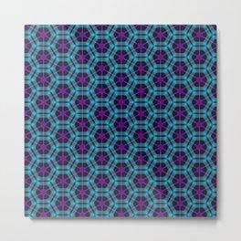 Neon Flux 05 Metal Print