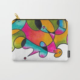 Abstract Gradient Critters Carry-All Pouch