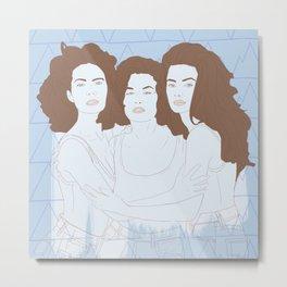 Twin Peaks I Metal Print
