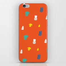 Bright and small pineapples iPhone & iPod Skin