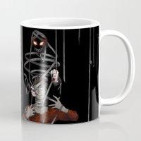 shadow Mugs featuring Shadow by Yiji