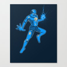 Tobias the Blue Lantern Canvas Print