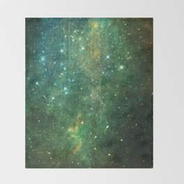 Desert Night Sky Throw Blanket