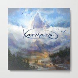 Karmaka Box Art Metal Print