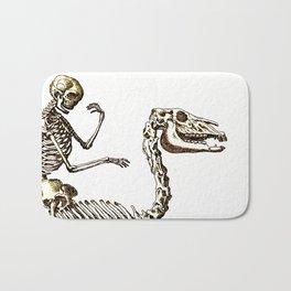 Horse Skeleton & Rider Bath Mat