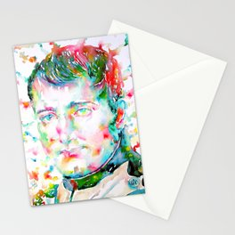 NAPOLEON watercolor portrait.3 Stationery Cards