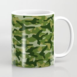 Forest Camouflage Coffee Mug