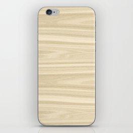 Maple Wood Texture iPhone Skin