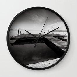Balaton - Pier Wall Clock