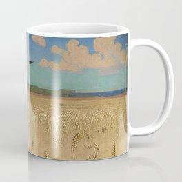 'Fields of Gold' landscape painting by Agnes Slott-Møller Coffee Mug