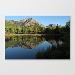 Warner Lake, La Sal Mountains Canvas Print