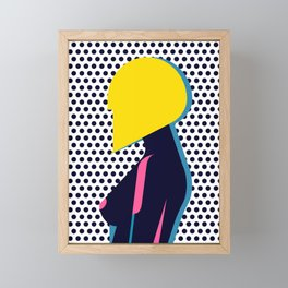 Hairdo Composition VI Framed Mini Art Print