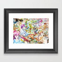 Confusing Colors Framed Art Print