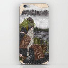 Nerthus the Earth Goddess iPhone Skin