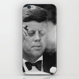 John F Kennedy Smoking iPhone Skin