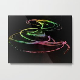 rainbow flame Metal Print