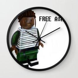Free A$AP Wall Clock
